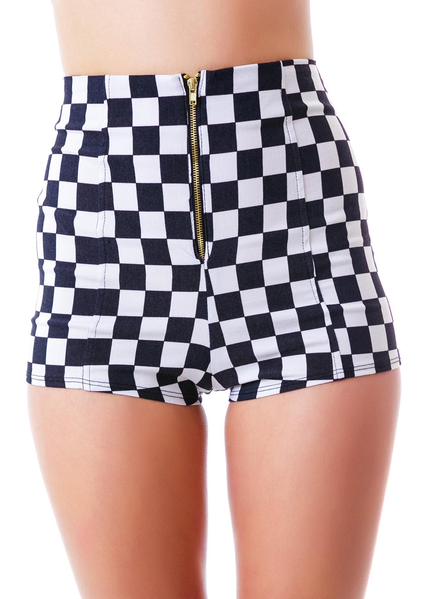 Chessboard Shorts