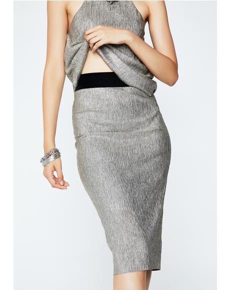 Glistening Looks Skirt