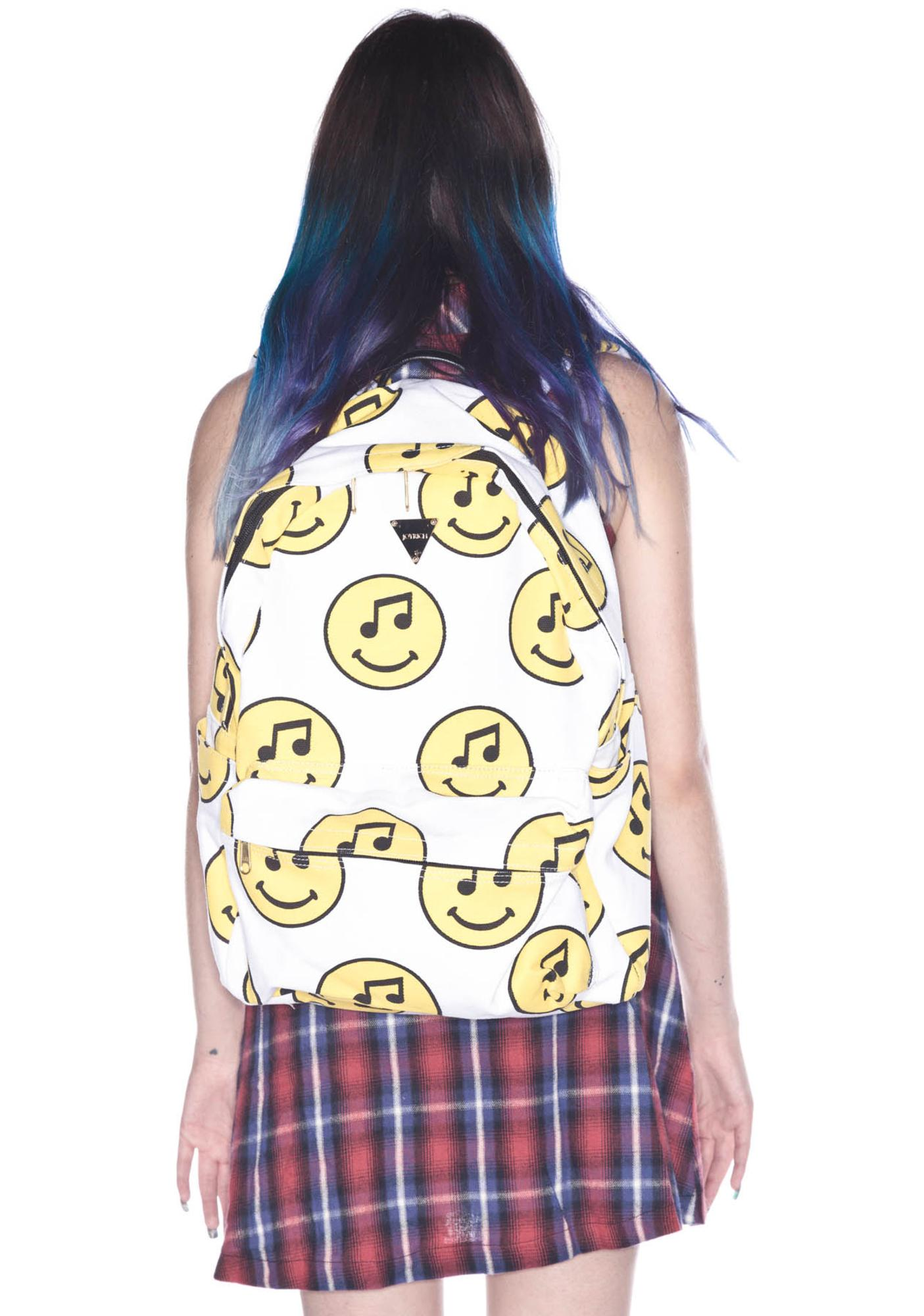 Joyrich Music Face Backpack