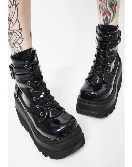 Dark Prism Technopagan Boots