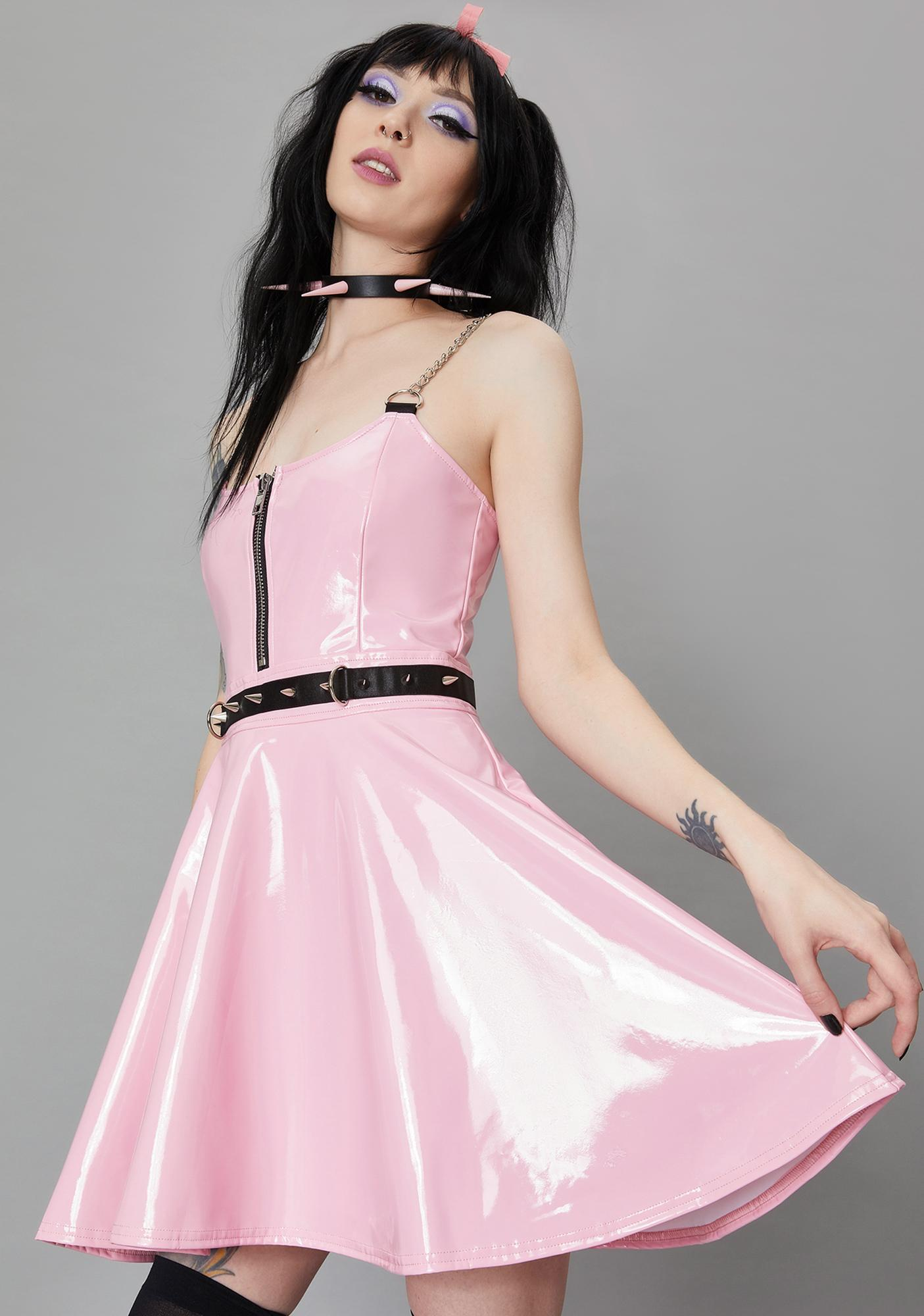 Widow Bound To You Bondage Dress