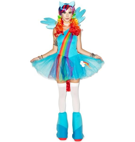Rainbow Dash Costume Set