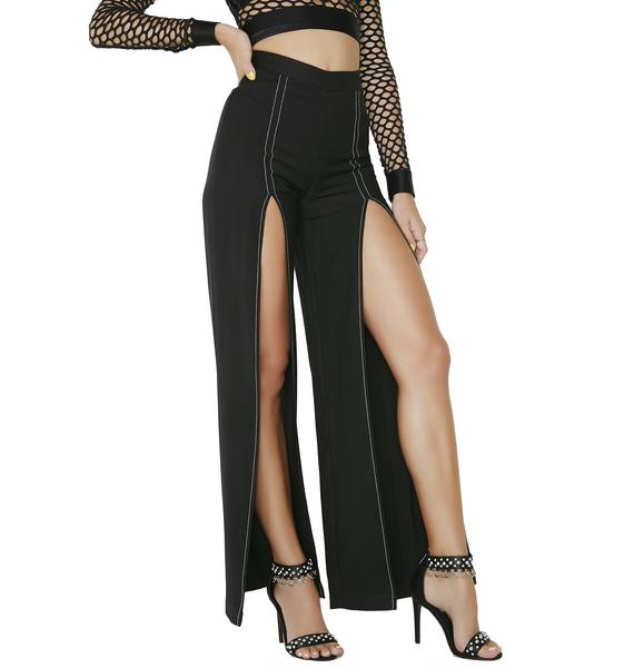 Free Form Split Trousers