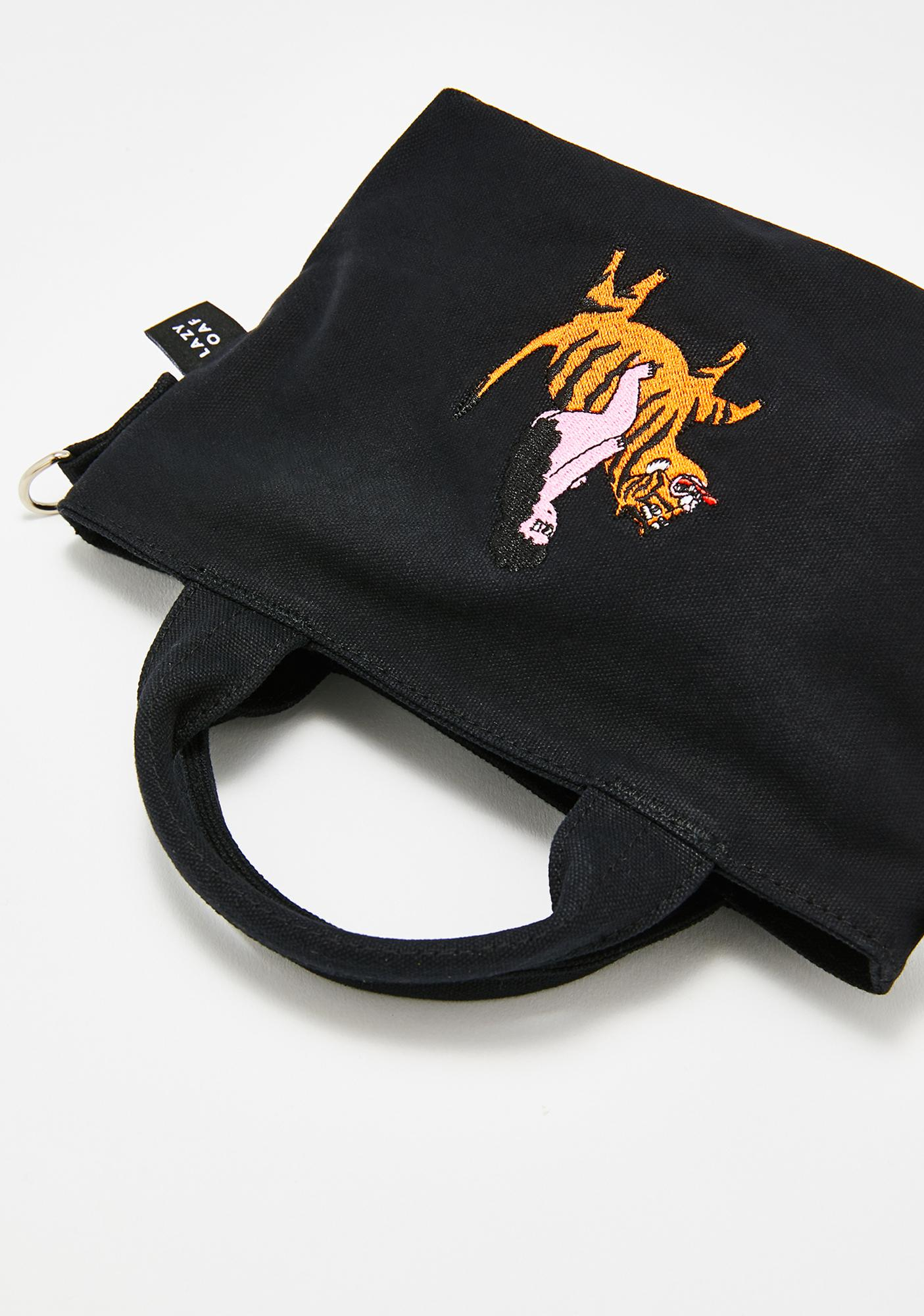 Lazy Oaf Tiger Lady Mini Tote Bag