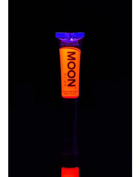 Neon Intense Orange UV Eyeliner
