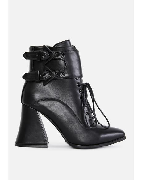 Bad Spell Lace Up Boots