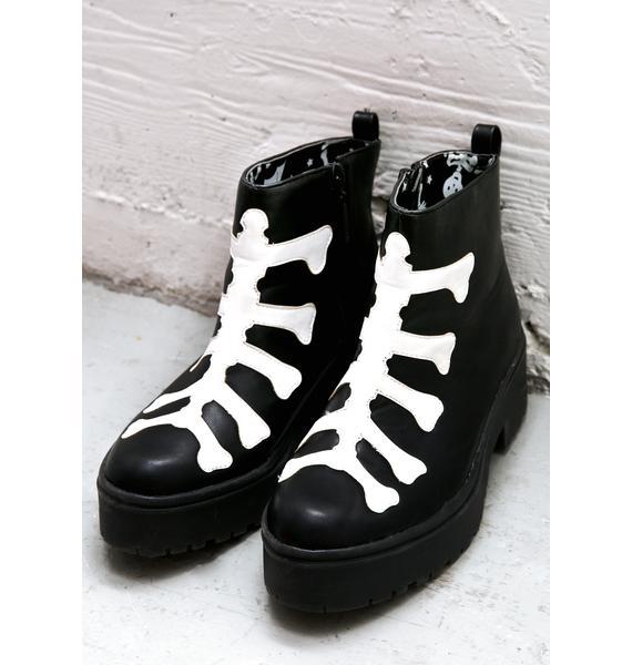 Iron Fist Wishbone Heavy Sole Boots