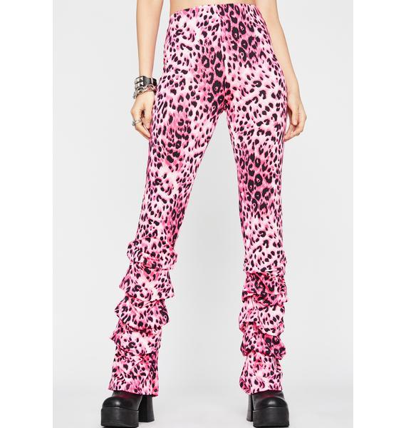 Sweet Terrorizing Thots Leopard Pants