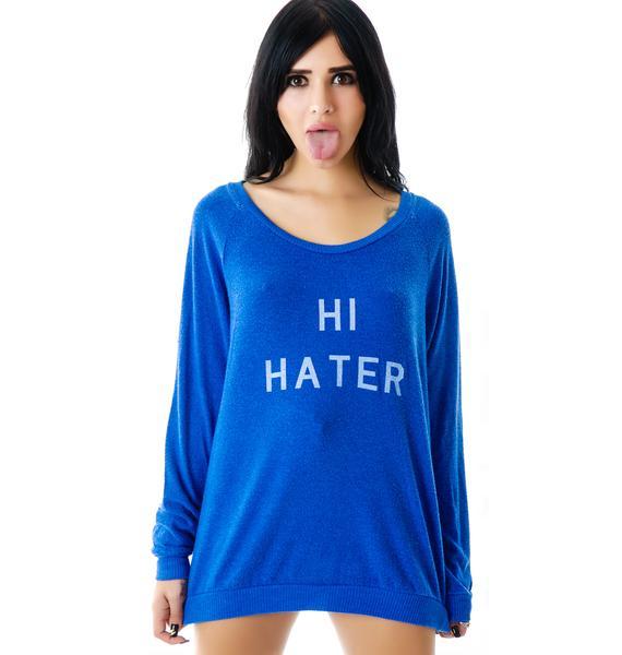 Local Celebrity Hi Hater Stones Lounger