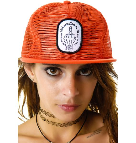 HUF Welcome Committee Snapback