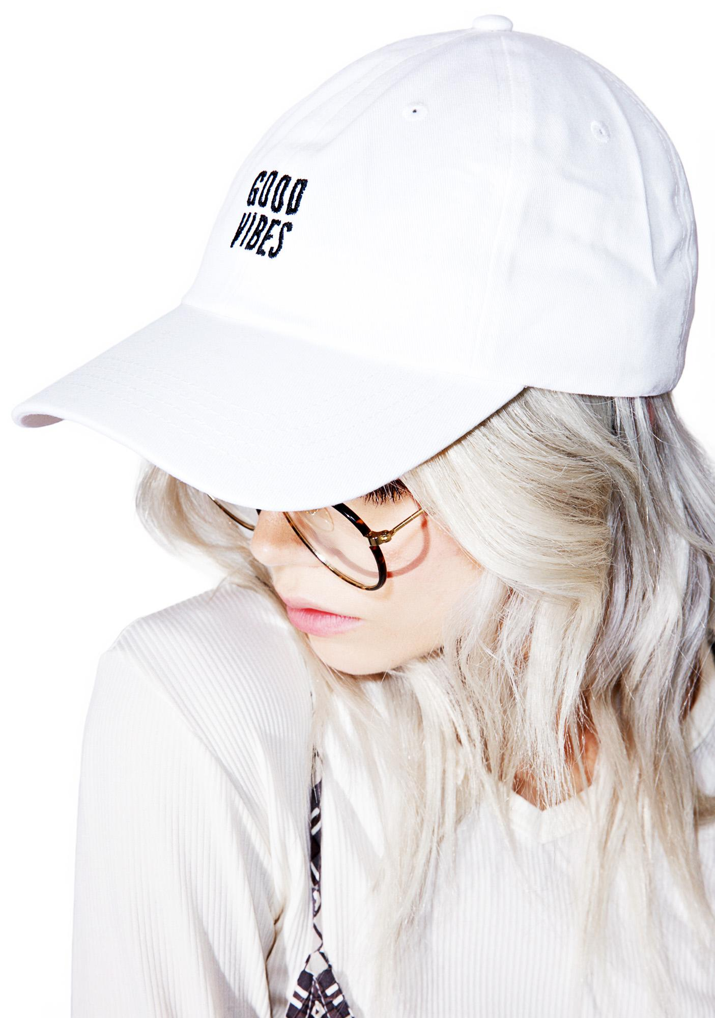 CRSHR Good Vibes Dad Hat