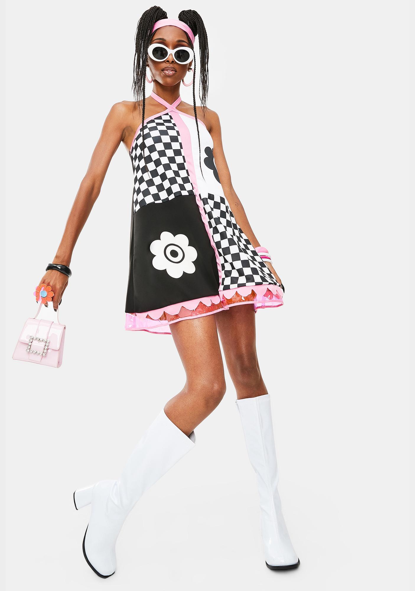 Swinging 60s Sweetie Costume Set
