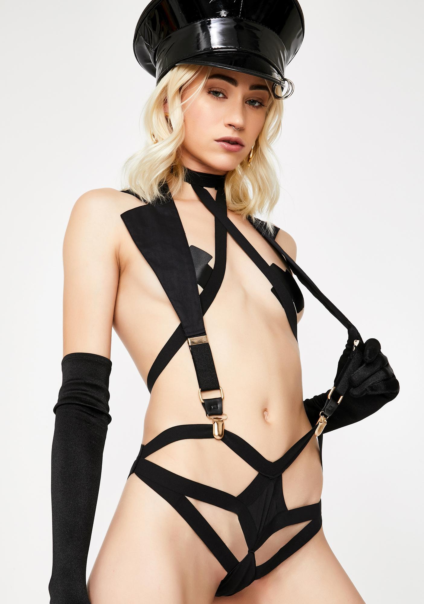 Next Stop Cut Out Bodysuit