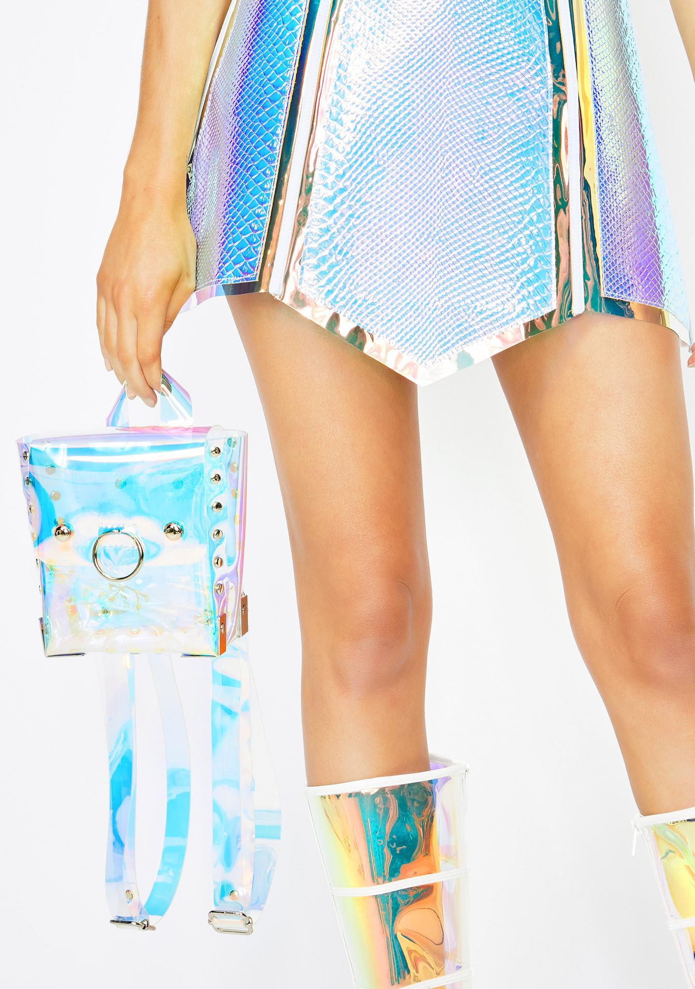 Club Exx Omega Centauri Hologram Backpack