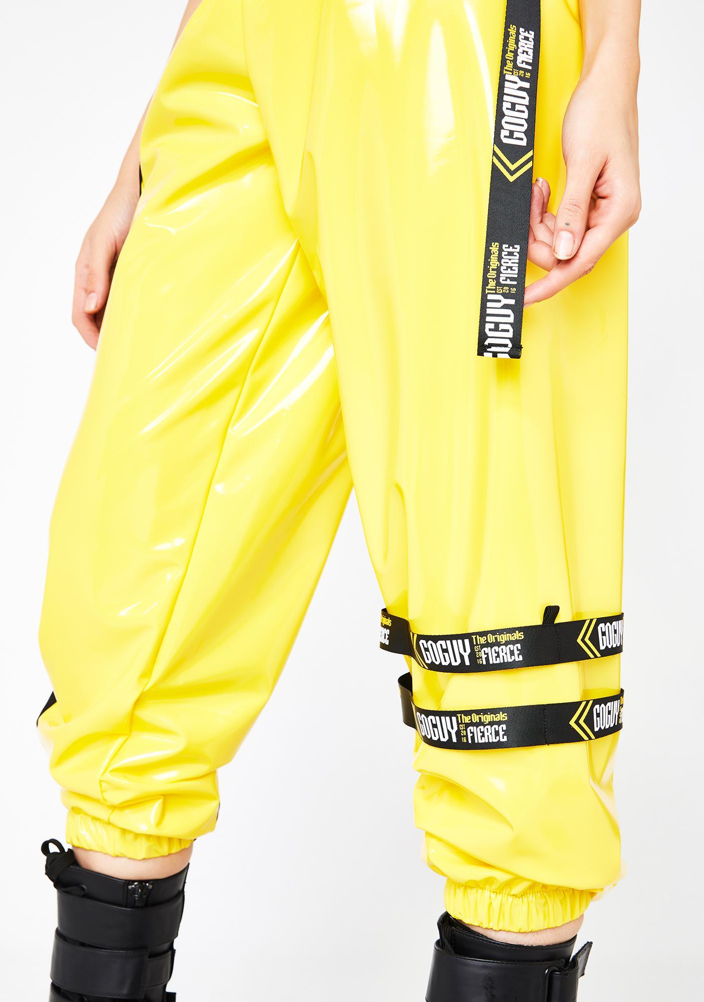 GoGuy Fierce Motocross Yellow Pants