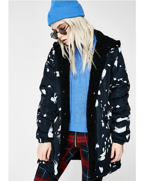 Kendall Sherpa Coat