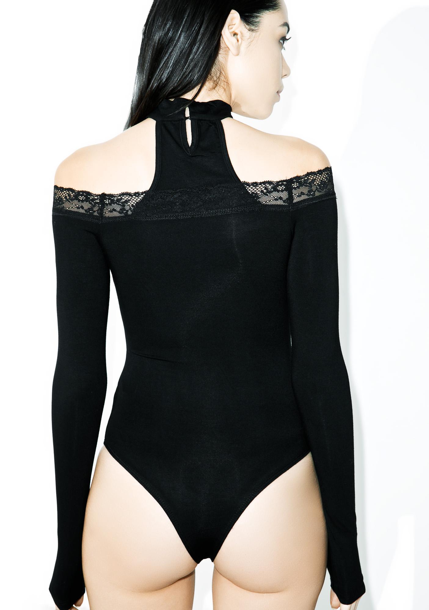 In My Misery Choker Bodysuit