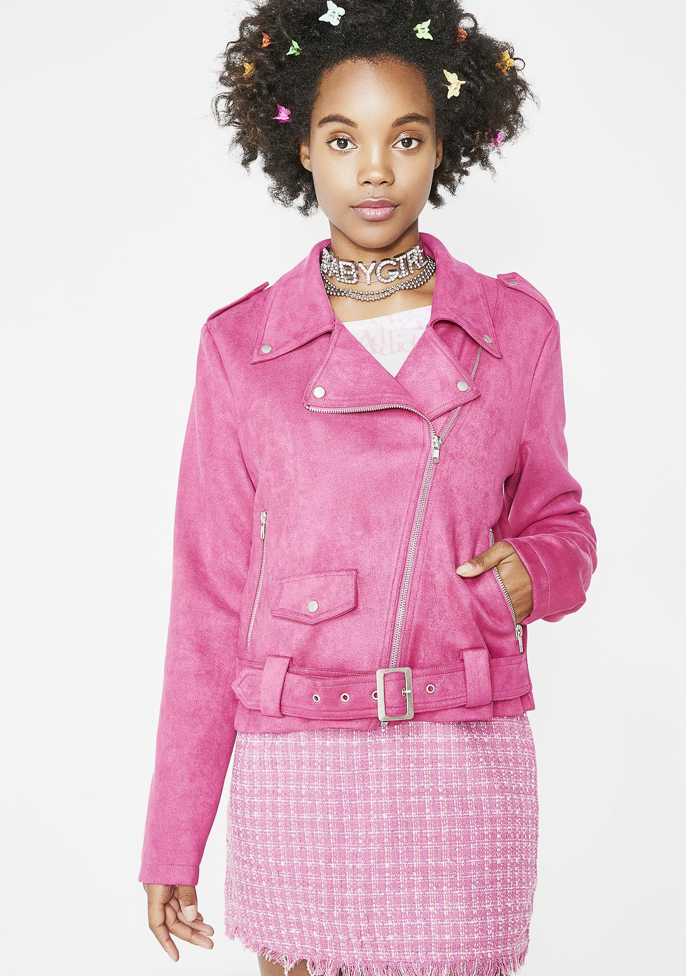 Glamorous Prim N' Prissy Moto Jacket