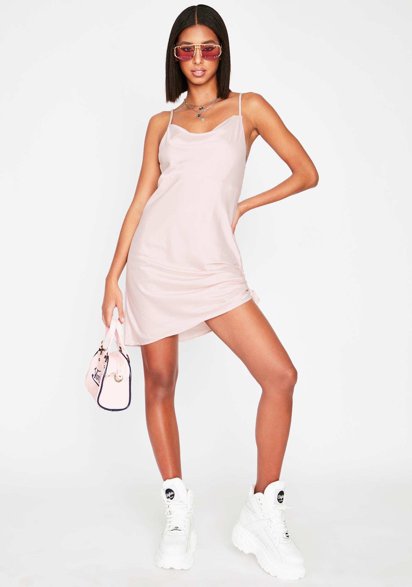 Pampered Princess Slip Dress