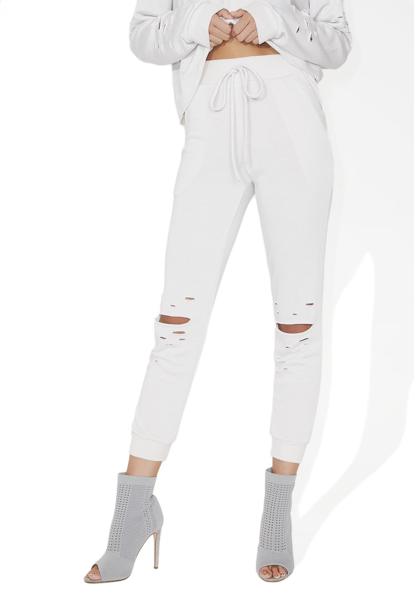 Lose Control Distressed Sweatpants
