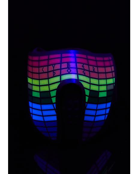Multicolor Light Up Mask