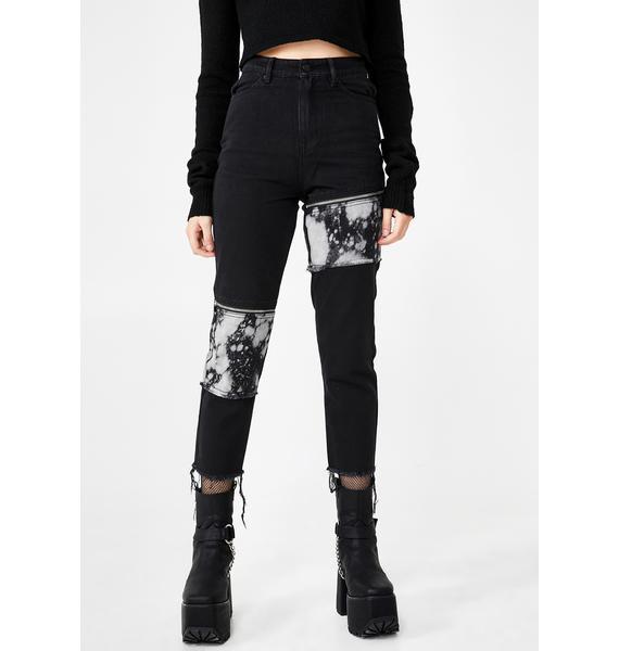 Disturbia Lithium Bleached Jeans
