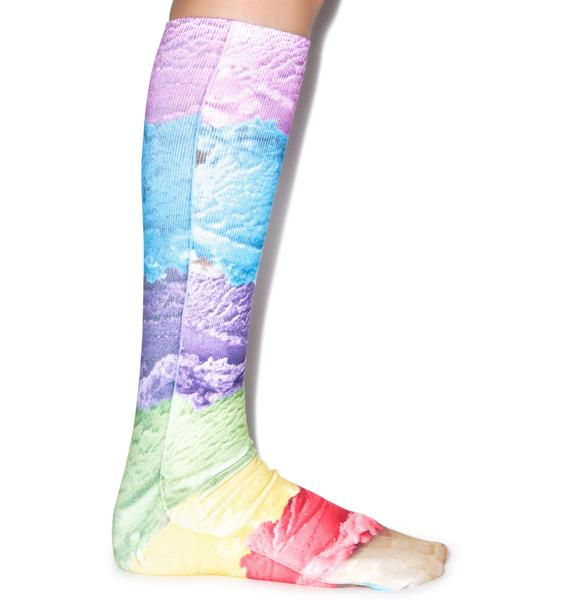 Lickety Split Knee High Socks