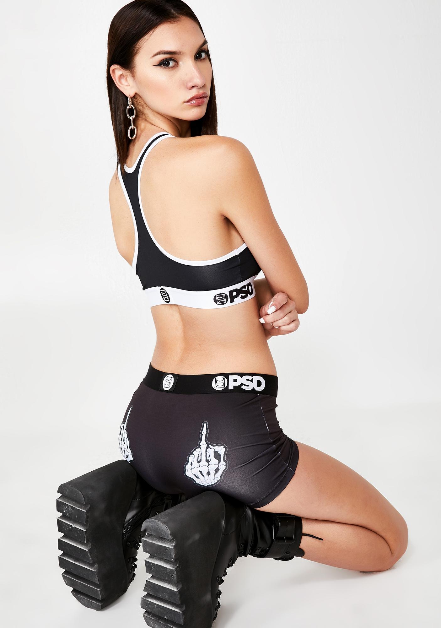 PSD Underwear Skeleton FU Boy Shorts