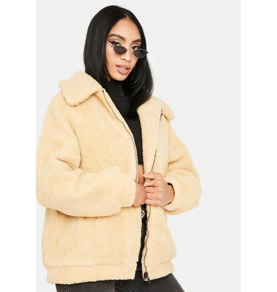 Tan Only Legends Teddy Jackets