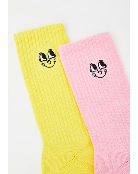 Pink N' Yellow Sock Pack