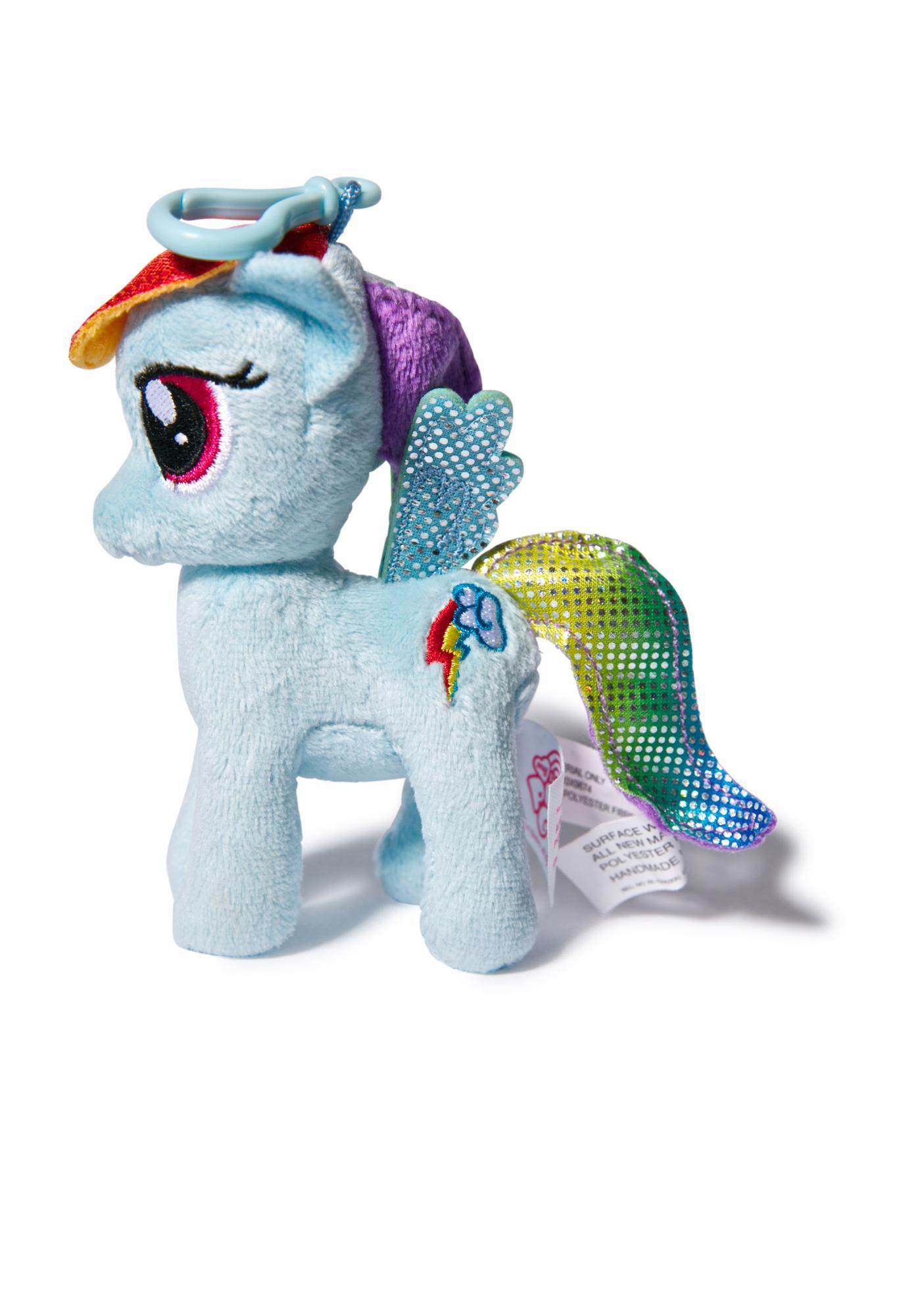 Rainbow Dash Plushy Clip-On