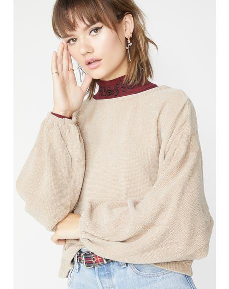 Coco Deep Thinkin Knit Sweater