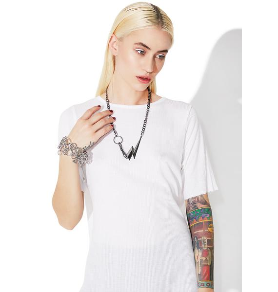 Cheap Monday Bolt Necklace