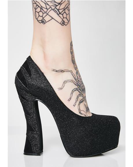 Wicked Ways Platform Heels