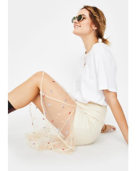 Dulce Sol Midi Skirt