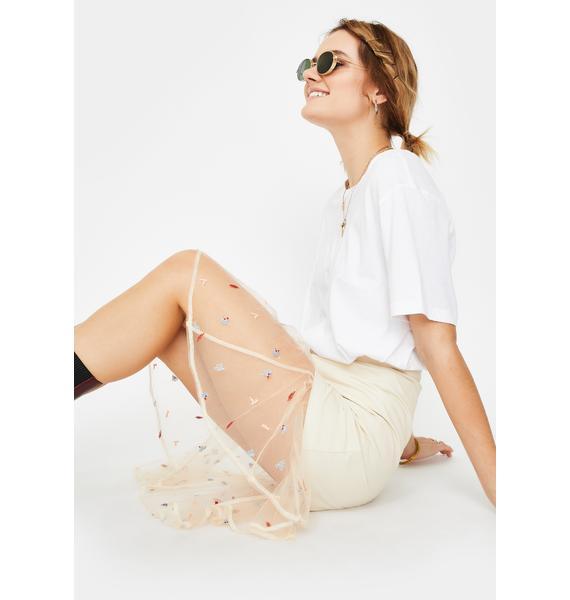 ZYA Dulce Sol Midi Skirt