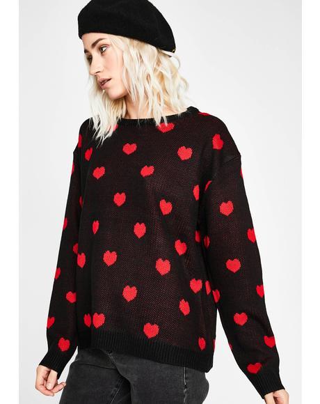 Lovers Avenue Knit Sweater