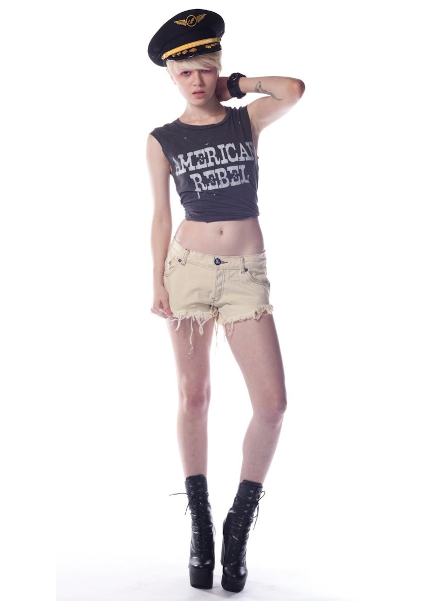 One Teaspoon Original Bonita Denim Shorts