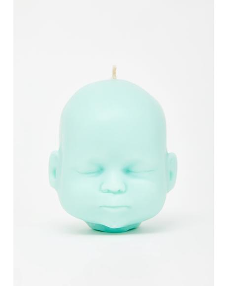 Mint Baby Doll Soy Candle