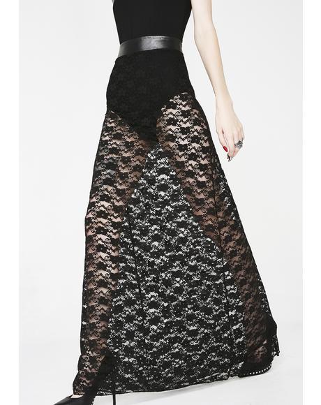 Lydia Lace Maxi Skirt