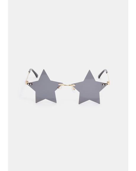 Key To The VIP Star Sunglasses