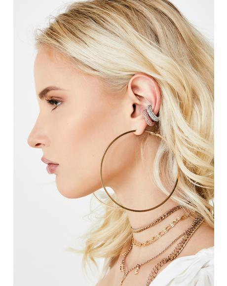 My Moment Rhinestone Ear Cuffs