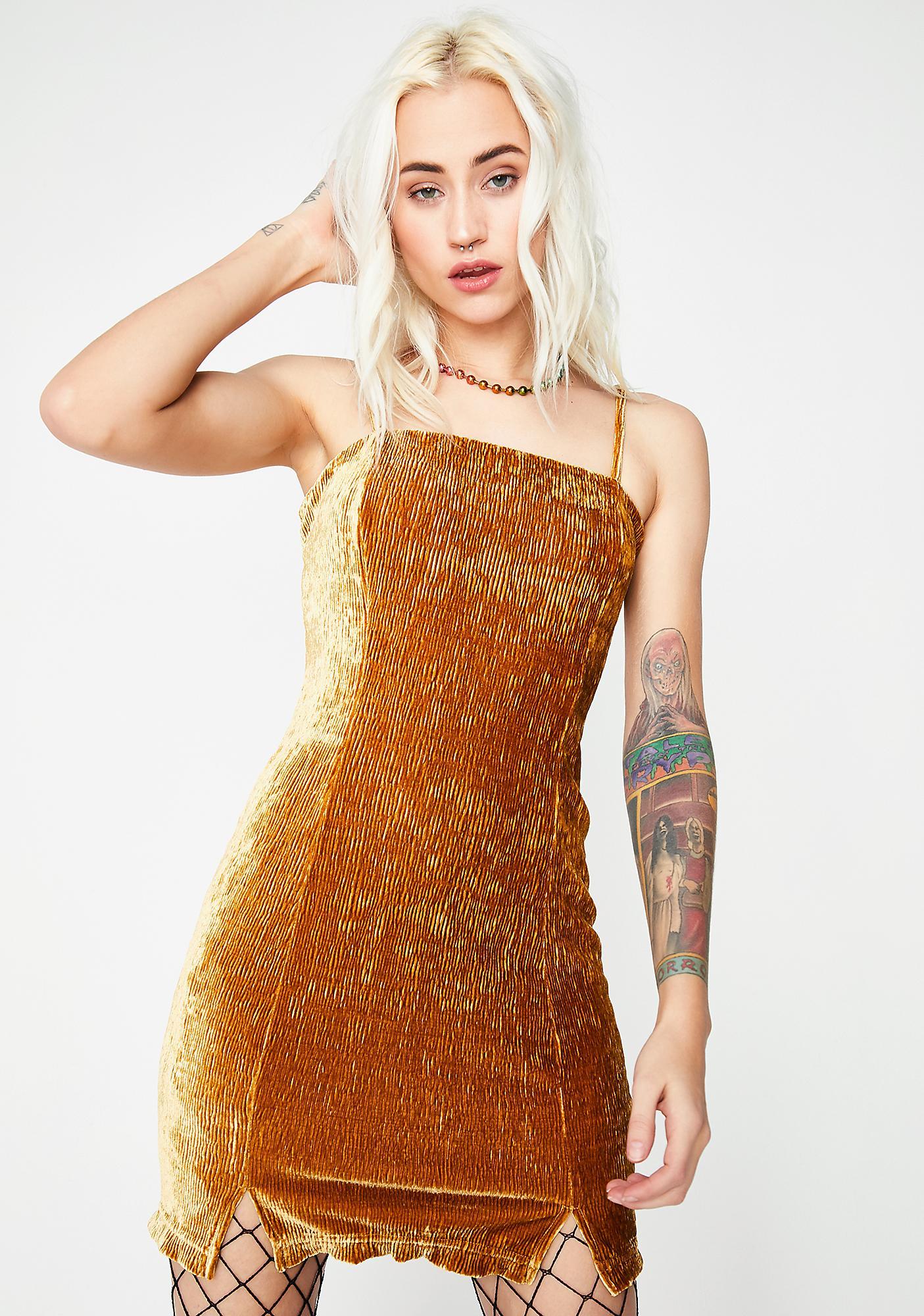 Fleeting Moment Mini Dress