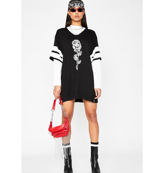 Poster Grl Babe League Jersey Dress
