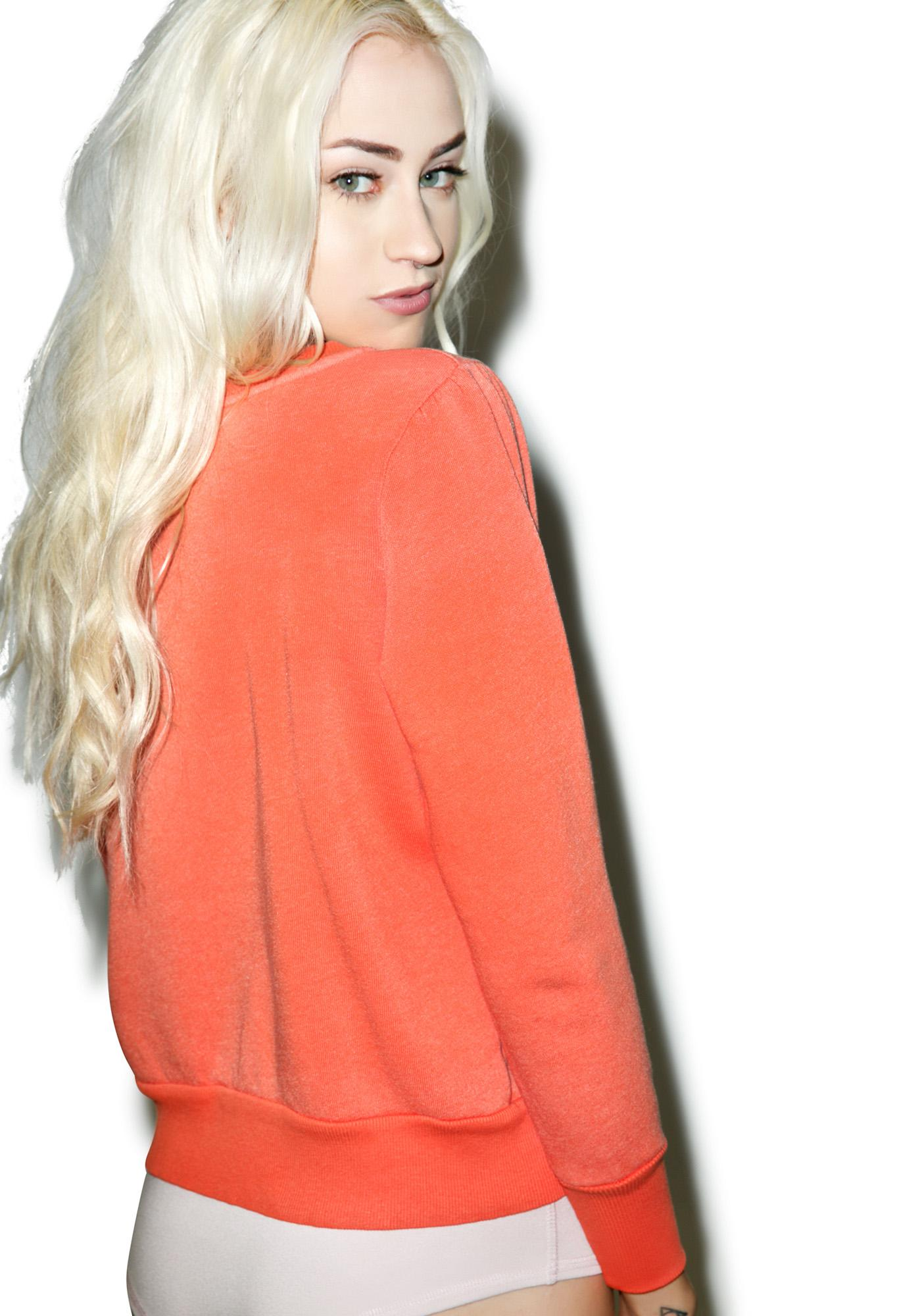 Wildfox Couture Cape At The Cleaners Couch Princess Sweater