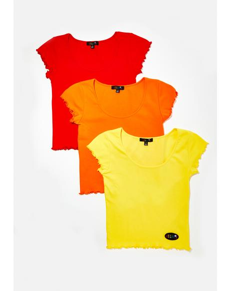 Primary Cutie Tees 3 Pack