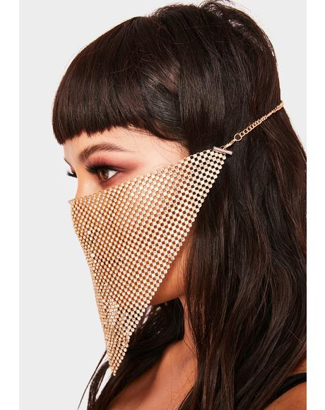 Gilded Glitter Freeze Face Mask