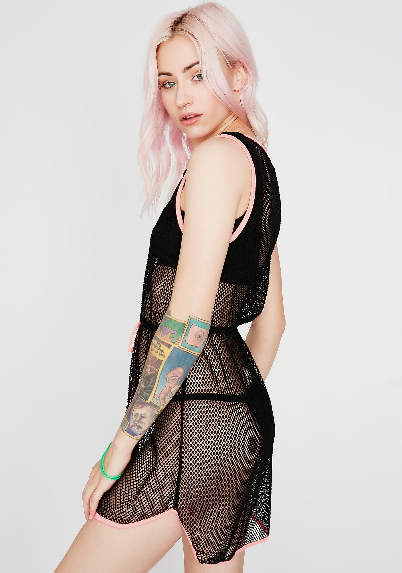 See It Through Sheer Cover Up