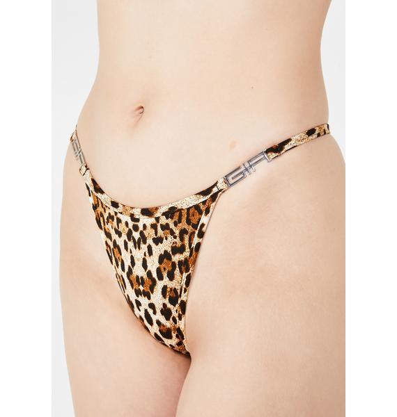 I AM GIA Leopard Ava Bikini Bottom