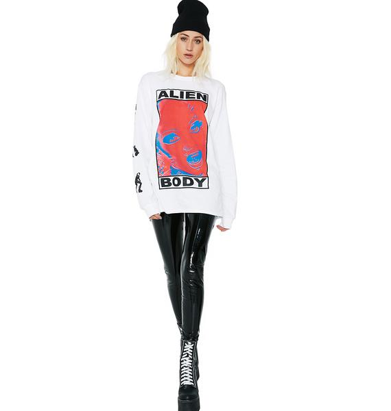 Cold Abyss Long Sleeve Graphic Tee